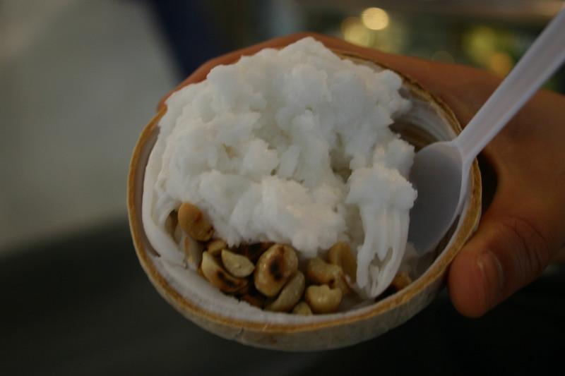 코코넛 아이스크림