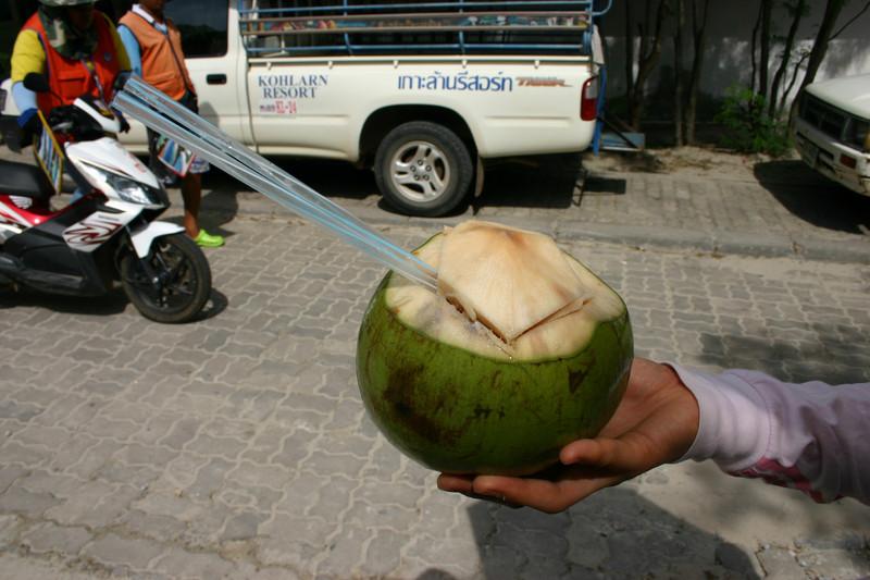 코코넛 쥬스