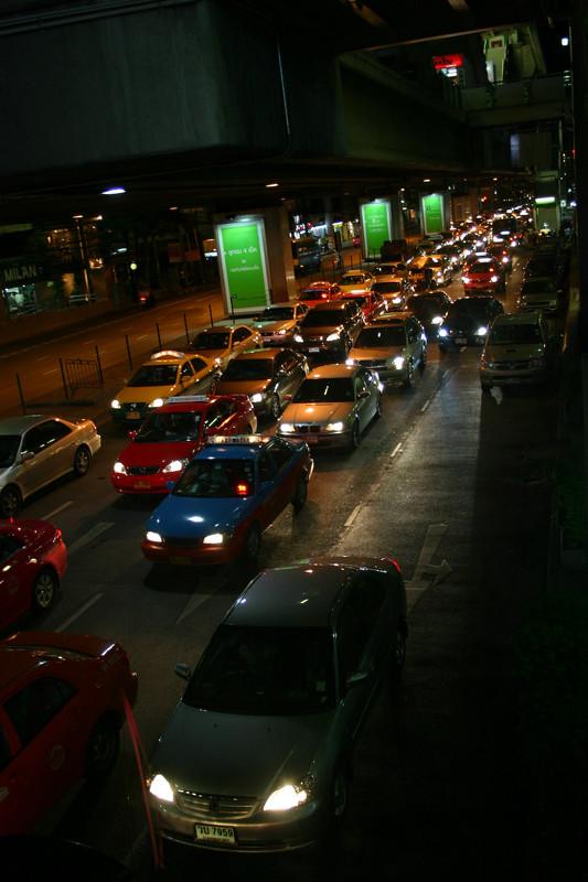 야간의 방콕